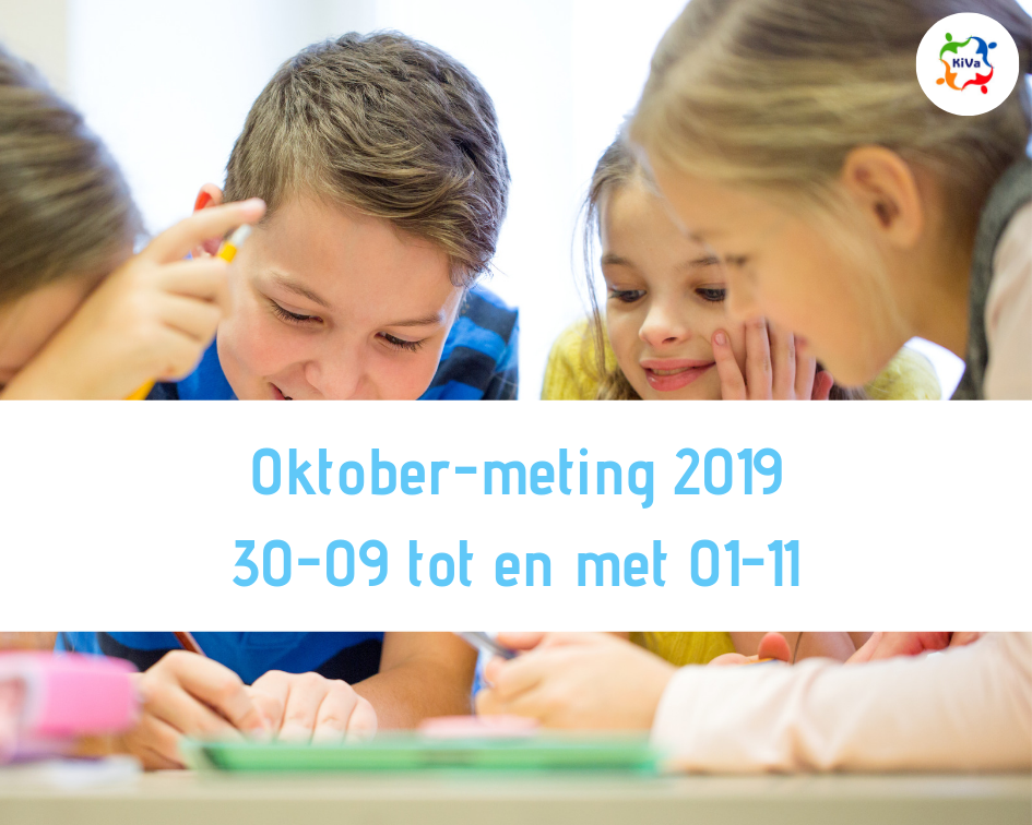 Datum Oktober-meting  2019 bekend!